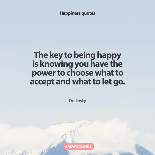 take charge of your own happiness