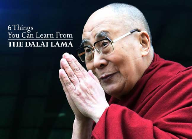 6 things you can learn from the Dalai Lama
