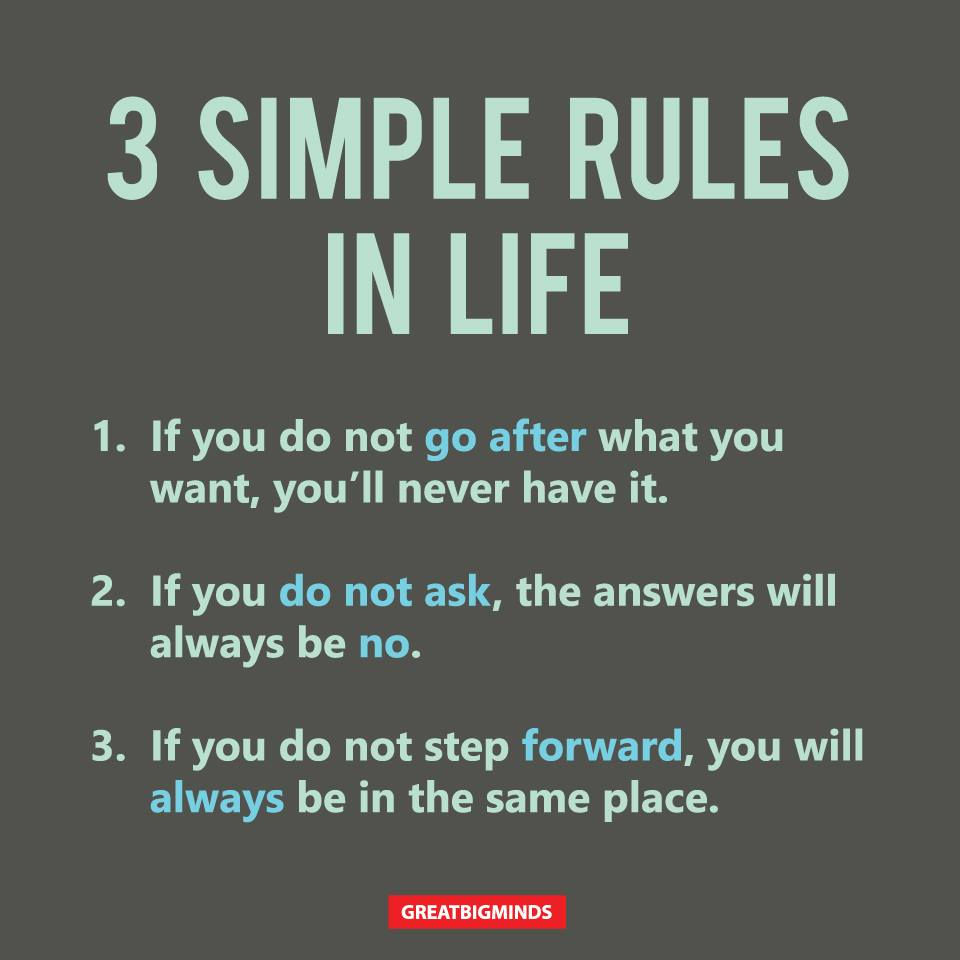 Of life quotes rules 12 Rules