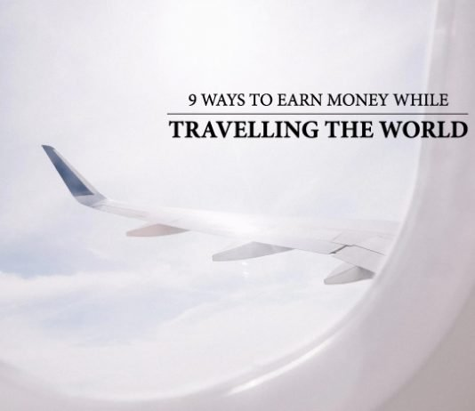 earn money while travelling the world