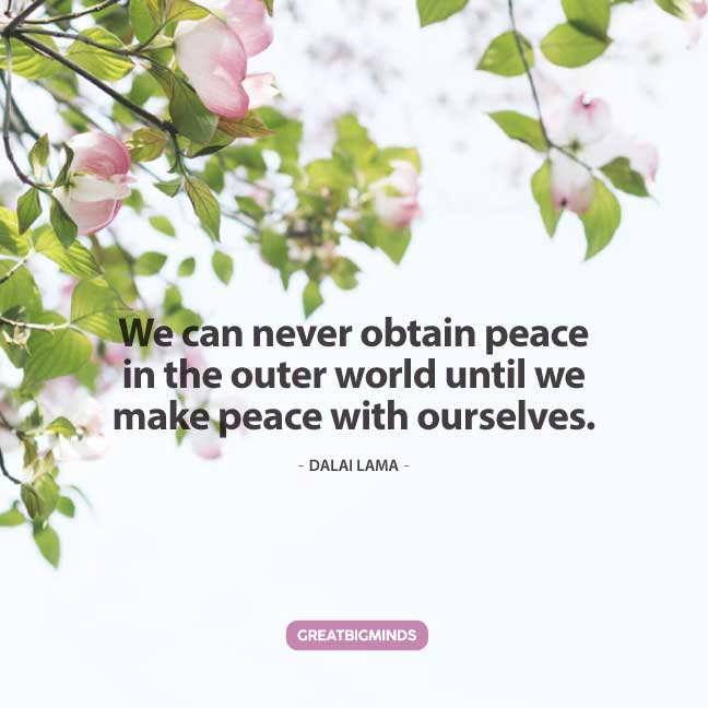 peace dalai lama quotes
