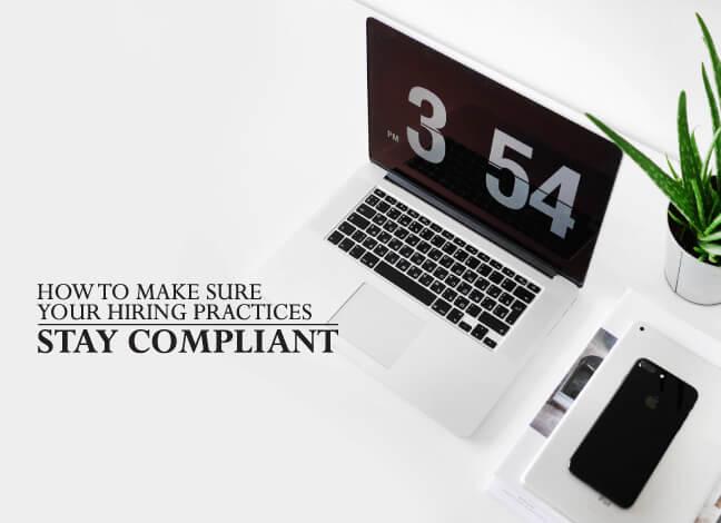 hiring practices compliant