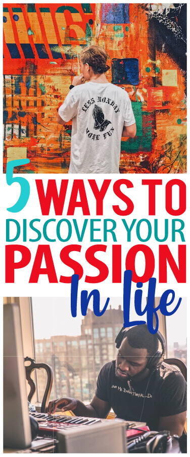 discover your passion in life