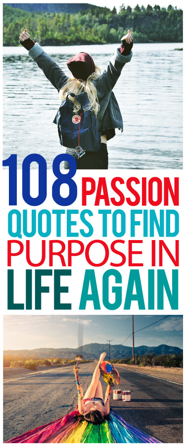 passion quotes pinterest