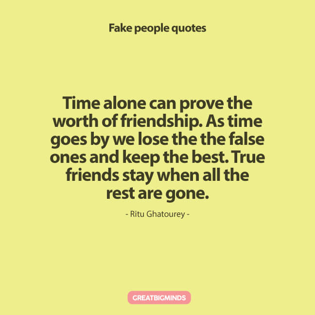 fake friends fake people quotes