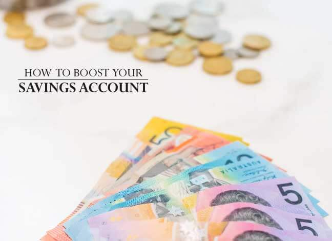 how to boost savings account
