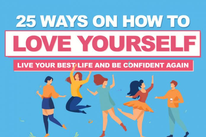 25 Ways On How To Love Yourself And Be Confident Again 2