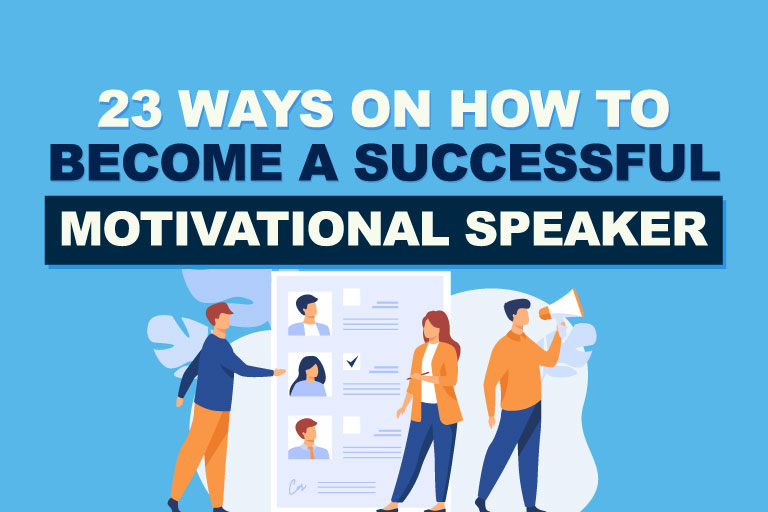 8 Ways On How To Become A Motivational Speaker