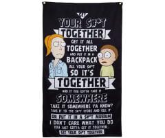 Calhoun-Rick-and-Morty-Indoor-Wall-Banner