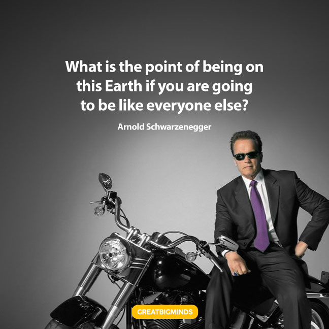 arnold schwarzenegger inspirational quotes