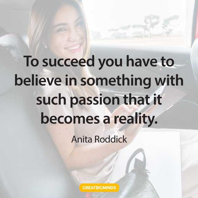 believe passion quotes