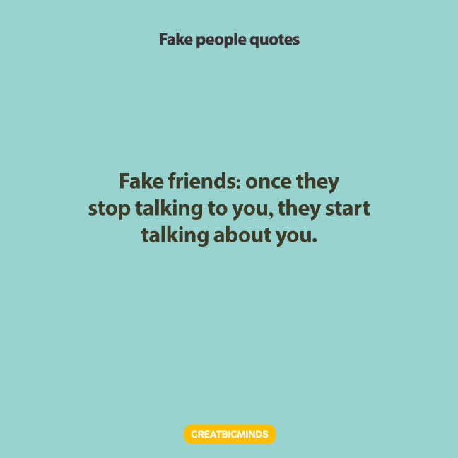 best-Fake-people-quotes