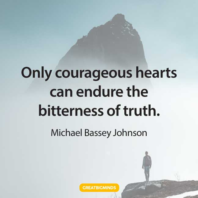 courage quotes about power