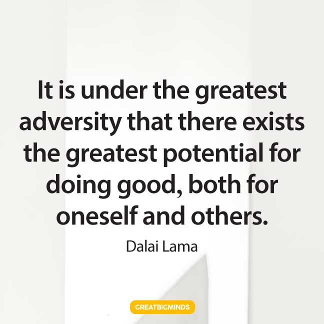 dalai lama quotes never give up