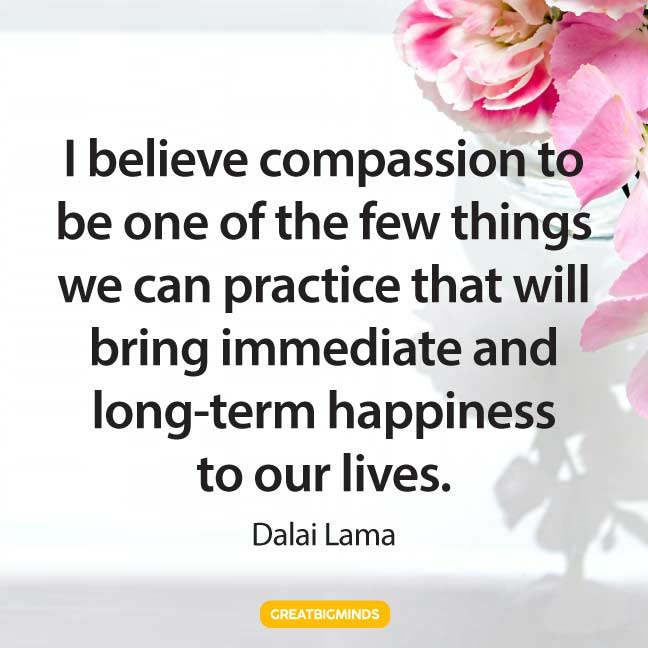 dalai lama quotes on compassion
