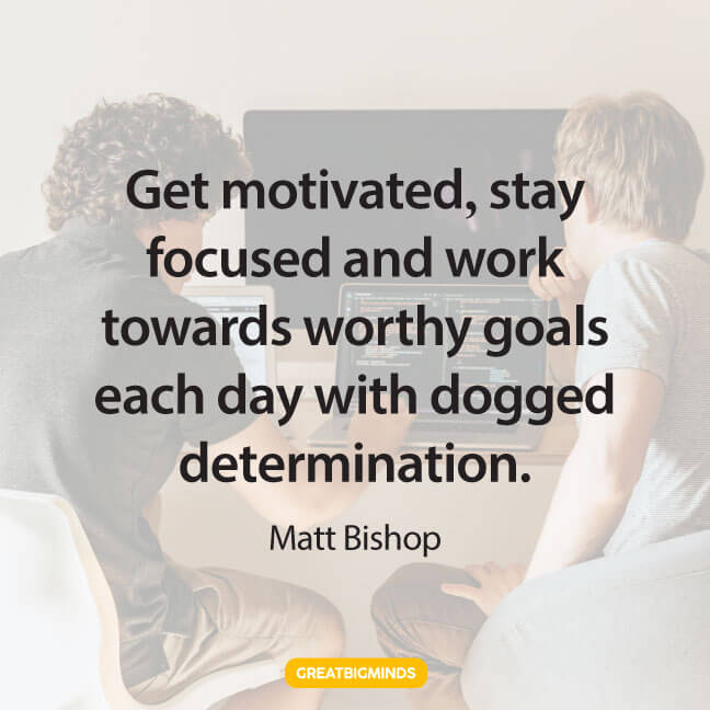 determination stay focused quotes