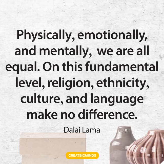 equal dalai lama quotes
