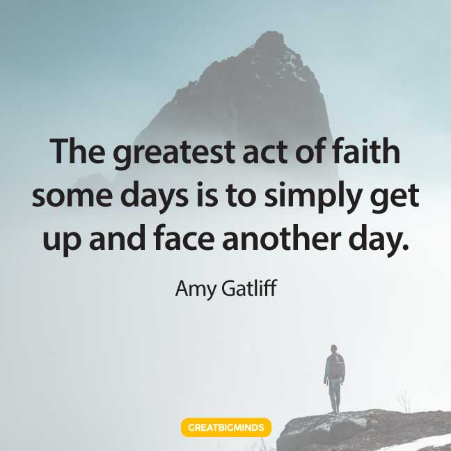 faith quotes about power