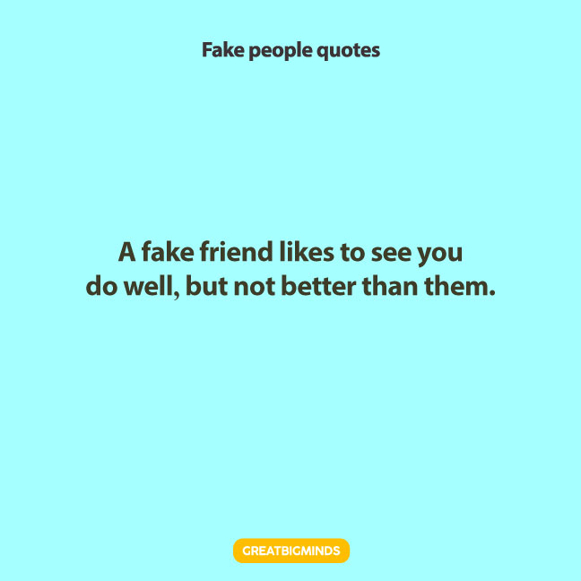 fake friend fake people quotes