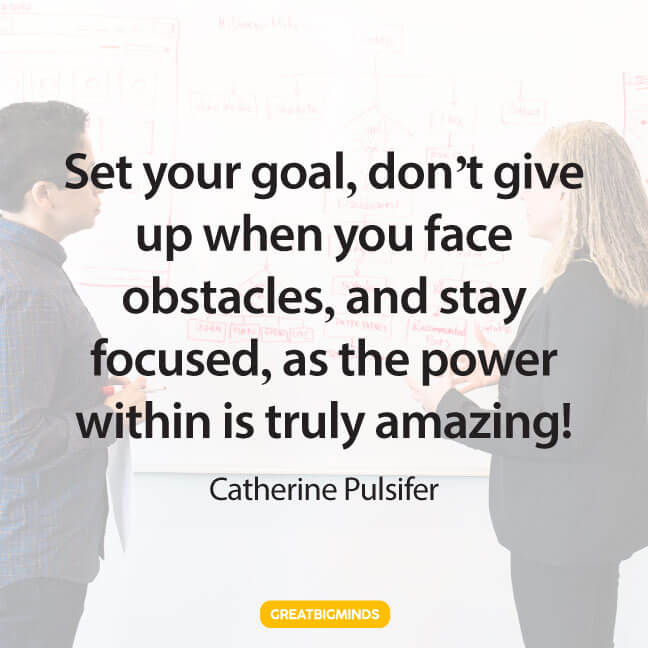 goals stay focused quotes