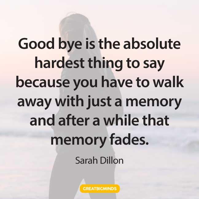 goodbye walking away quotes
