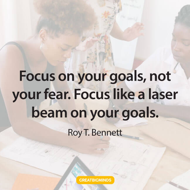 laser stay focused quotes
