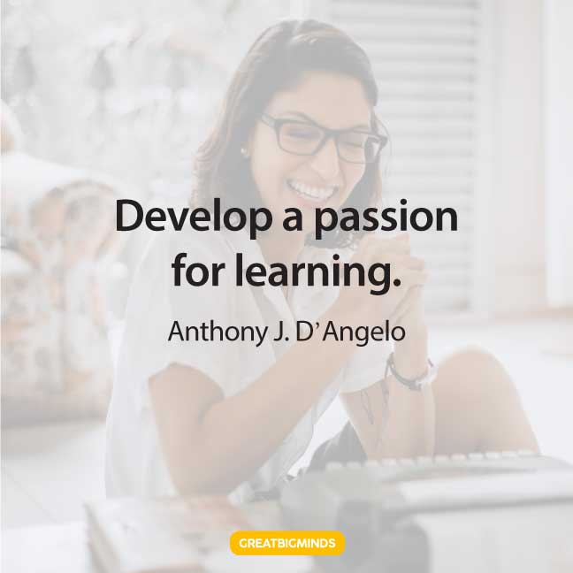 learning passion quotes
