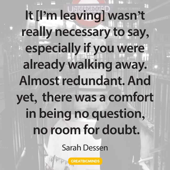 leaving walking away quotes