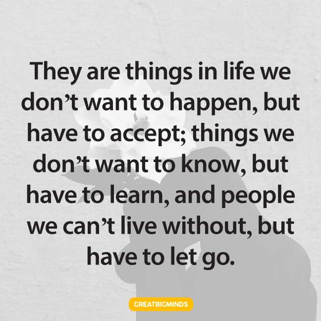 let go life lesson quotes