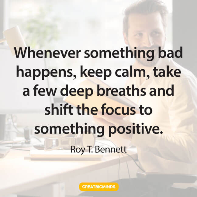 positive stay focused quotes