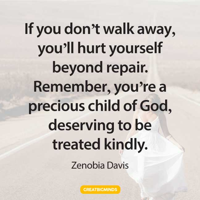 precious walking away quotes