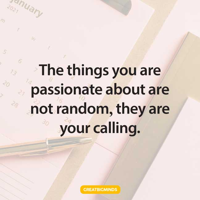 pursue your passion quotes