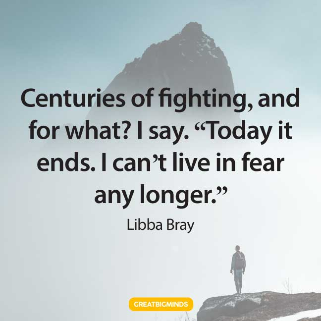 quotes about power and fear