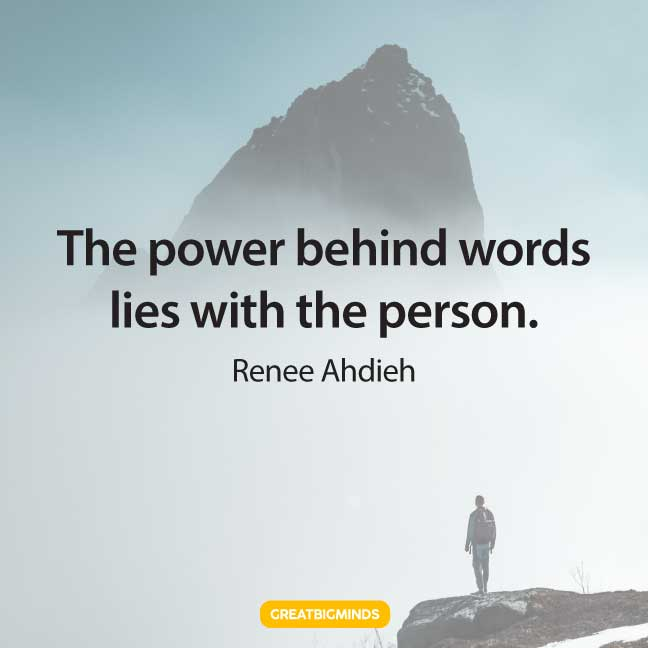 quotes about power of word