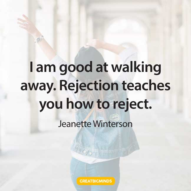 reject walking away quotes
