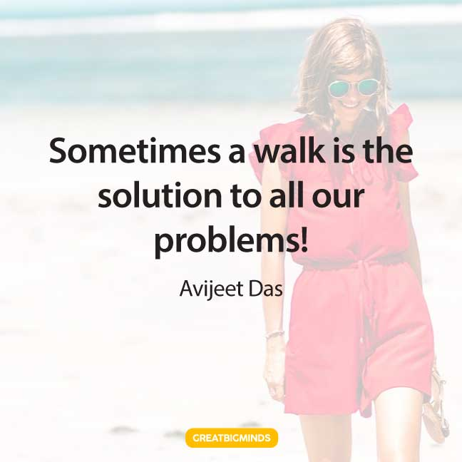 solution walking away quotes