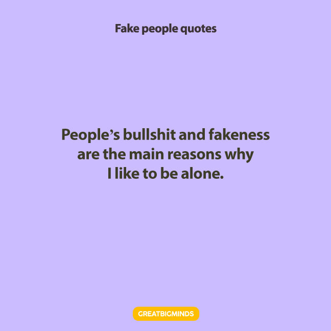 stay away fake people quotes