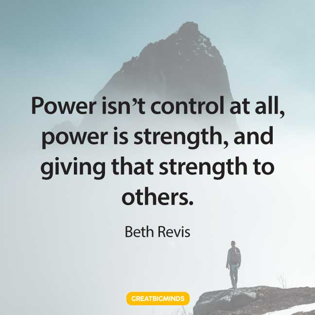 strength quotes about power