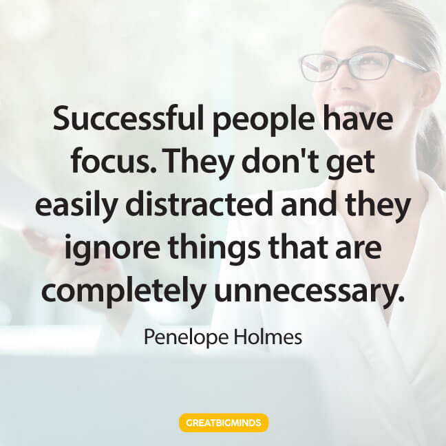 success stay focused quotes