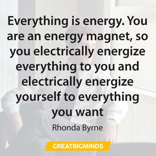 energy the law of attraction quotes