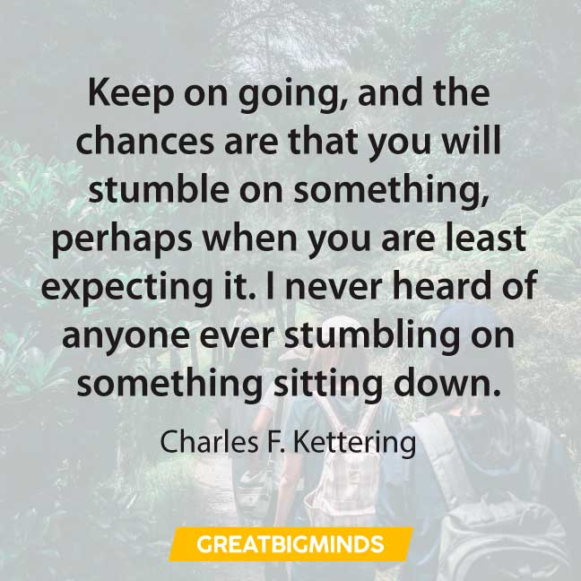 posititve keep going quotes