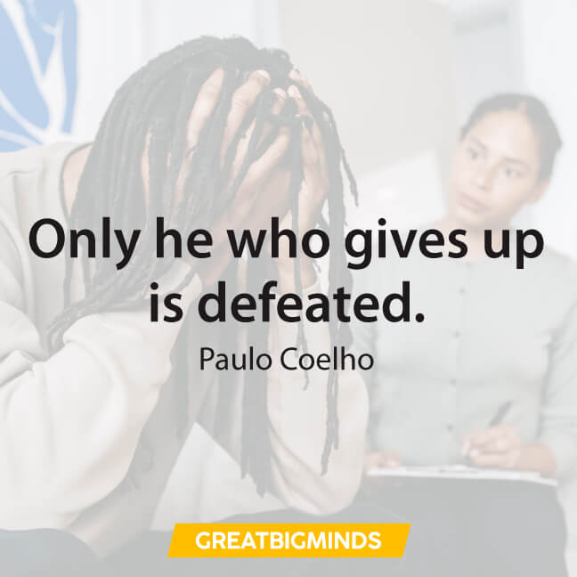 give up paulo coelho quotes