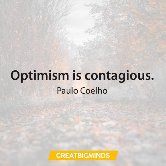 optimism paulo coelho quotes