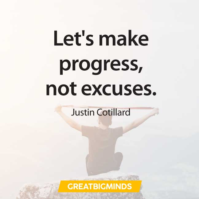 progress quotes about procrastination