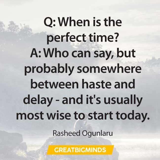 time quotes about procrastination