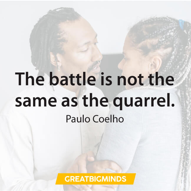 battle paulo coelho quotes