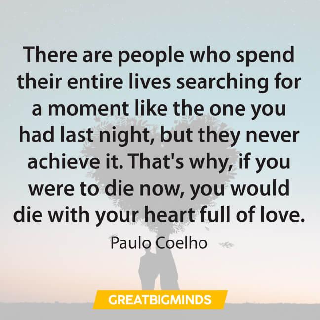 love Paulo Coelho Quotes