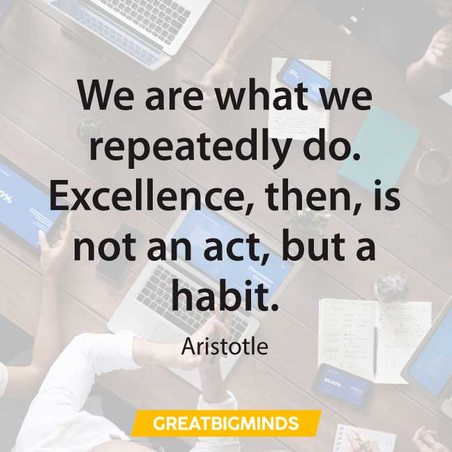 aristotle keep going quotes