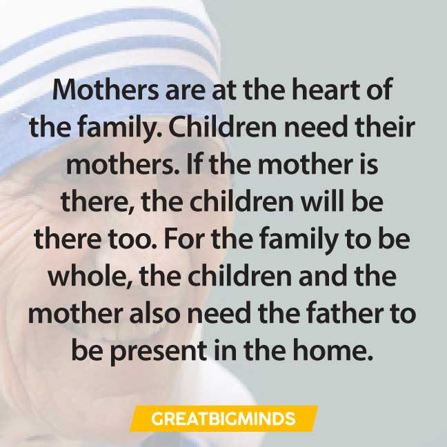family-mother-teresa-quotes