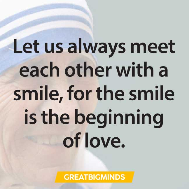 smile-mother-teresa-quotes